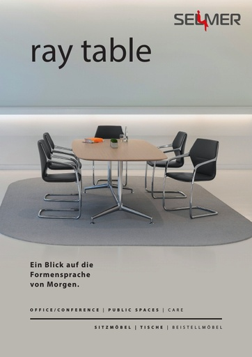 ray table_Selmer_Produktdatenblatt_DE.pdf
